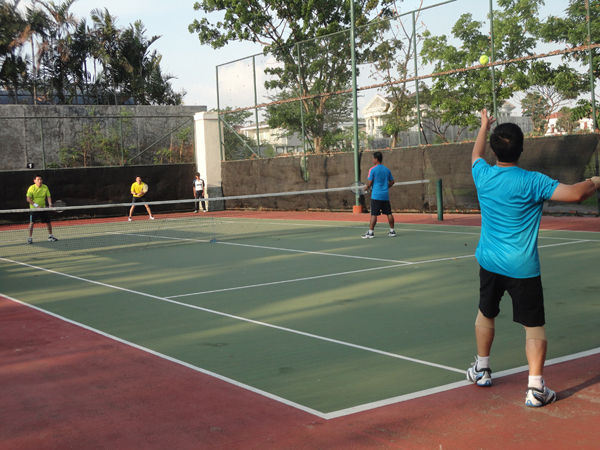Badminton, Tennis, Basketball, Table Tennis, Squash