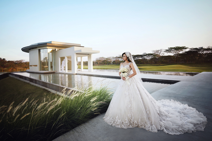 The wedding chapel ciputra golf club resto with its alluring atmosphere your chapel will be sealed in the serenity of our wedding pavilion junglespirit Gallery