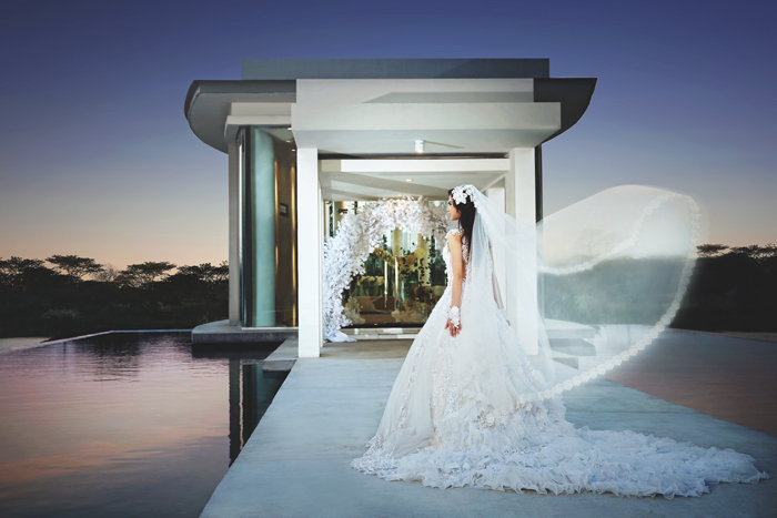 The wedding chapel ciputra golf club resto with its alluring atmosphere your chapel will be sealed in the serenity of our wedding pavilion junglespirit Images