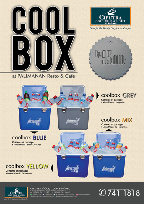 Poster Cool Box'17