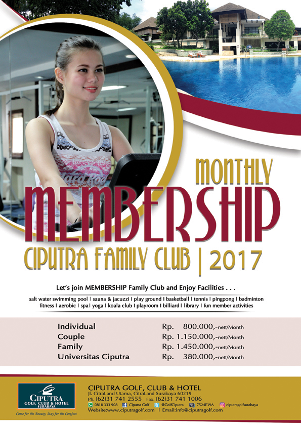Poster Monthly Membership FC'17