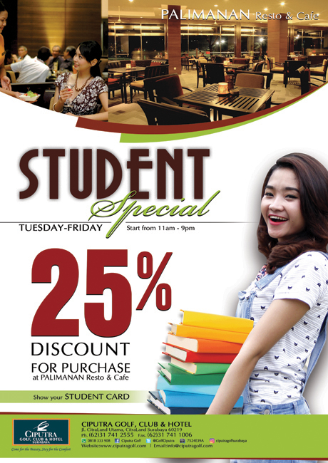 Poster Student Promo 1