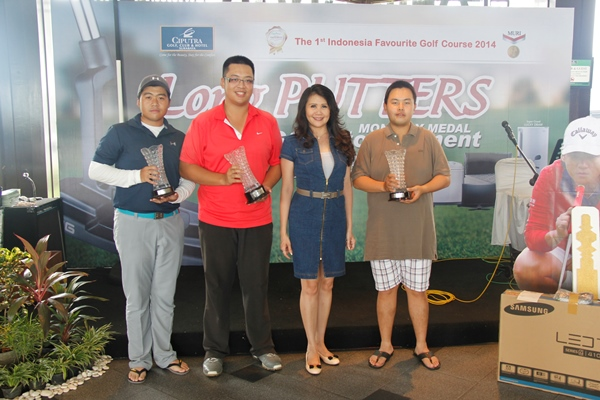Long Putters Monthly Medal Golf Tournament January 2016
